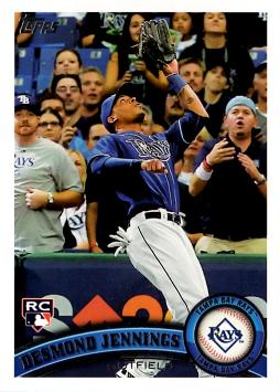 2011 Topps Desmond Jennings Rookie Card