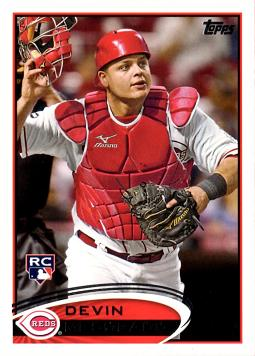 2012 Topps Devin Mesoraco Rookie Card