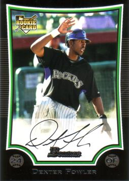 Dexter Fowler Rookie Card