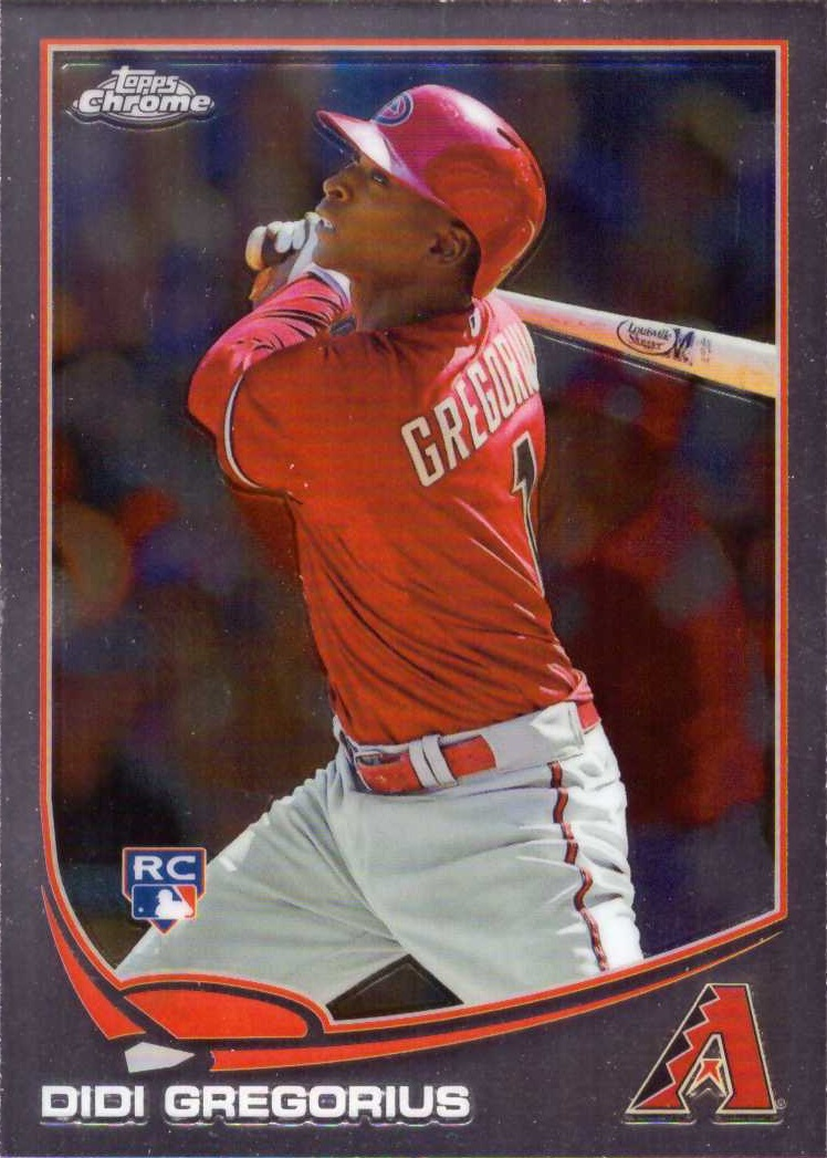 Didi Gregorius Topps Chrome Rookie Card