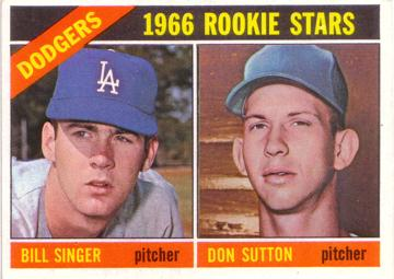 Don Sutton Rookie Card