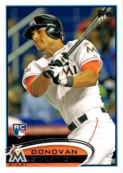 2012 Topps Update Donovan Solano Rookie Card