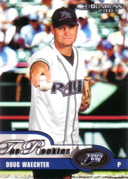 2003 Donruss the Rookies Doug Waechter Rookie Card