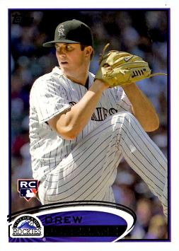 Drew Pomeranz Rookie Card