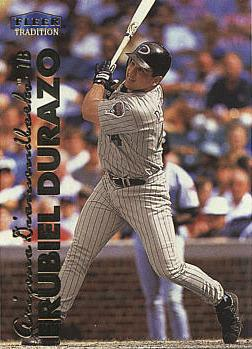 1999 Fleer Update Erubiel Durazo rookie card