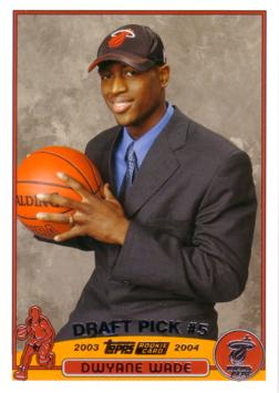 Dwyane Wade Rookie Card