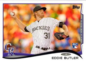Eddie Butler Rookie Card