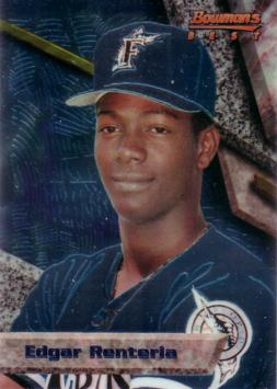 1994 Bowman's Best Edgar Renteria Rookie Card