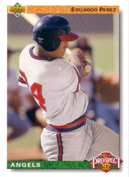 1992 Upper Deck Eduardo Perez Rookie Card