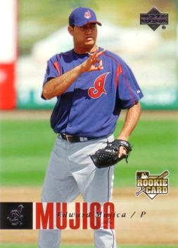 Edward Mujica Rookie Card