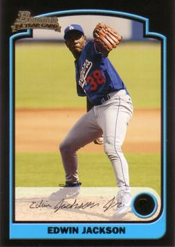 Edwin Jackson Rookie Card