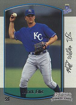 2000 Bowman Mark Ellis Rookie Card