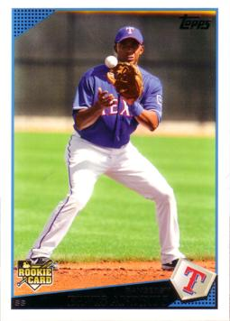 2009 Topps Elvis Andrus Rookie Card