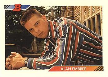 1992 Bowman Alan Embree Rookie Card