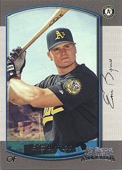 2000 Bowman Eric Byrnes Rookie Card