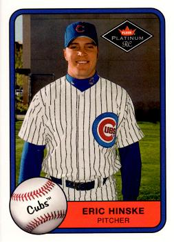 2001 Fleer Platinum Eric Hinske Rookie Card