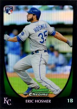 Eric Hosmer Bowman Chrome Refractor Rookie Card