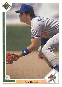 1991 Upper Deck Eric Karros Rookie Card