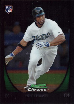 Eric Thames Chrome Draft Rookie Card