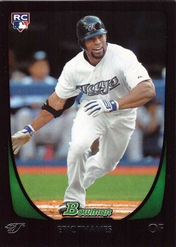 Eric Thames Bowman Draft Rookie Card