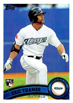 2011 Topps Update Eric Thames Rookie Card