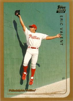 1999 Topps Traded Eric Valent Rookie Card