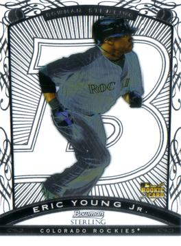 Eric Young Jr Rookie Card