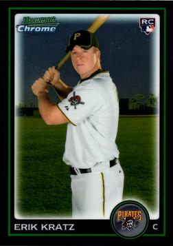 2010 Bowman Chrome Erik Kratz Rookie Card