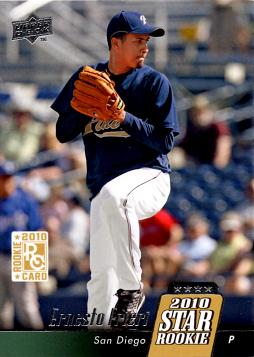 2010 Upper Deck Ernesto Frieri Rookie Card