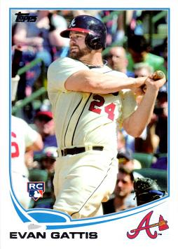 2013 Topps Evan Gattis Rookie Card