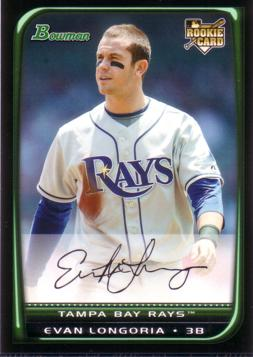 Evan Longoria Bowman Draft Rookie Card