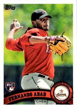2011 Topps Fernando Abad Rookie Card