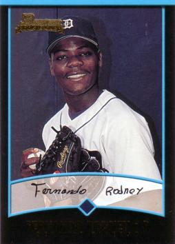 2001 Bowman Draft Picks Fernando Rodney Rookie Card