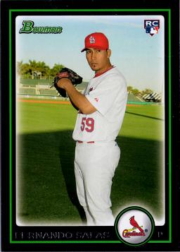2010 Bowman Draft Picks Fernando Salas Rookie Card