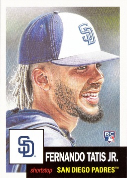 2019 Topps Living Set Baseball Fernando Tatis Jr. Rookie Card