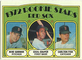 Carlton Fisk Baseball Rookie Card