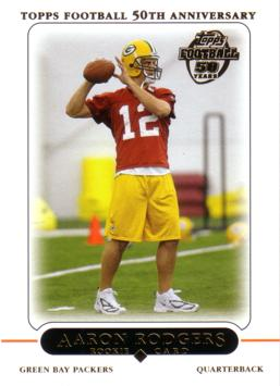 2005 Topps Aaron Rodgers Rookie Card