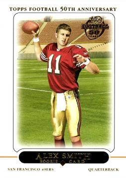 2005 Topps Football Alex Smith Rookie Card