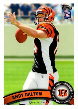 Andy Dalton Rookie Card
