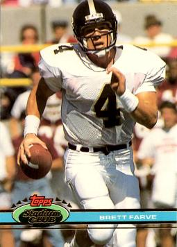 Brett Favre Rookie Card
