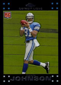 2007 Topps Chrome Calvin Johnson Rookie Card