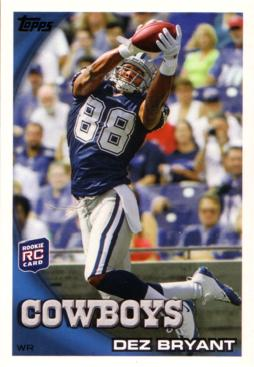 Dez Bryant Rookie Card