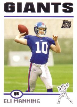 2004 Topps Eli Manning Rookie Card