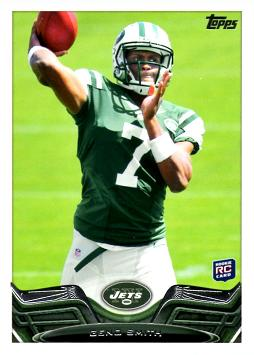 2013 Topps Geno Smith Rookie Card