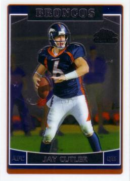 Jay Cutler Rookie Card