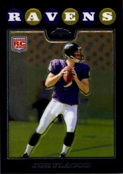 2008 Topps Chrome Joe Flacco Rookie Card