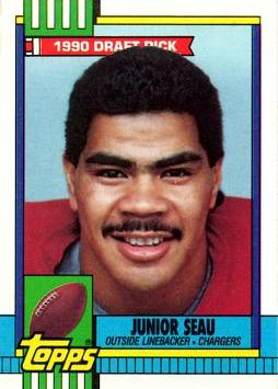 1990 Topps Junior Seau Rookie Card
