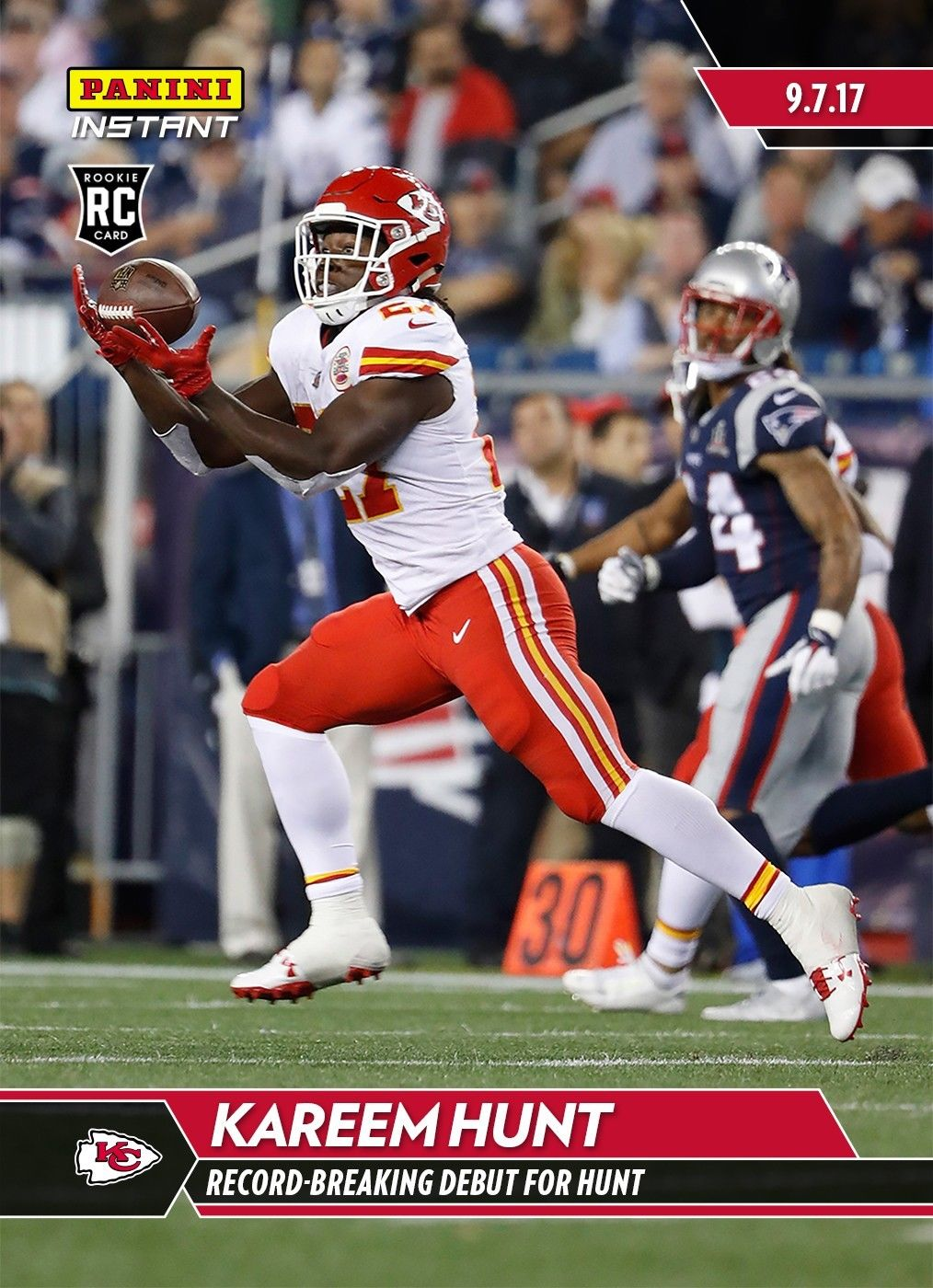 Kareem Hunt Rookie Card