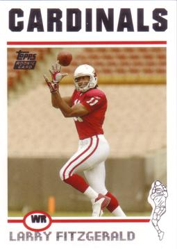 2004 Topps Larry Fitzgerald Rookie Card