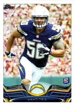 2013 Topps Manti Te'o Rookie Card